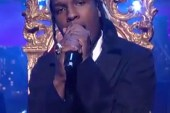 A$AP Rocky featuring A-Trak & araabMUZIK - Long Live A$AP/Wild For The Night (Live on Letterman)