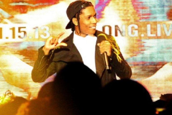 A$AP Rocky & Trinidad James Perform at the 106 & Party on New Year's Eve