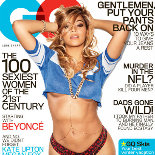 Beyoncé Covers February Issue of GQ