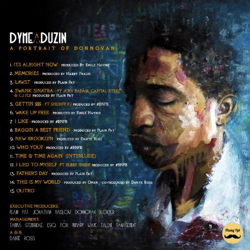 DyMe-A-DuZiN - A Portrait of Donnovan (Tracklist)