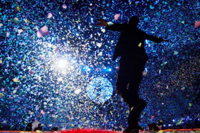 Jay-Z & Coldplay - NYE Show at Barclays Center