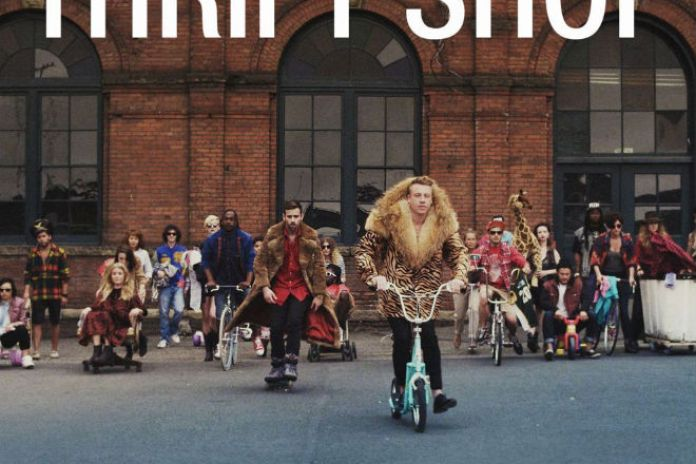 "Macklemore & Ryan Lewis' ""Thrift Shop"" Goes Double Platinum"