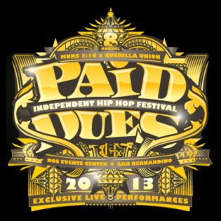 Paid Dues Announces Full 2013 Lineup