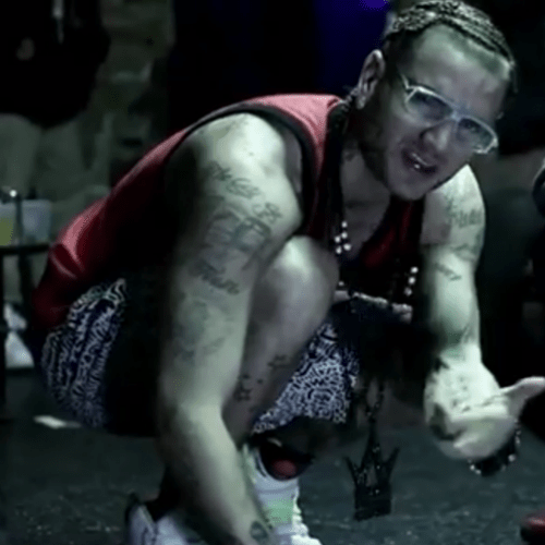 RiFF RaFF featuring Ghetty - Rap Game Patrick Ewing