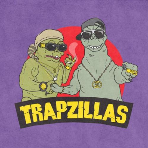 """TrapZillas featuring Riff Raff & Logic Ali - """"Bad Habits"""" & """"All You Playas"""""""