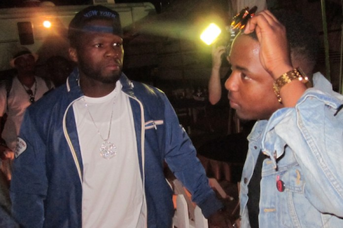 Kendrick Lamar Brings Out A$AP Rocky & 50 Cent for NYC Perfomance
