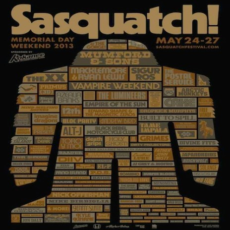 Sasquatch! Music Festival Announces Lineup: Danny Brown, The xx, Earl Sweatshirt, Toro Y Moi, Azealia Banks to Perform