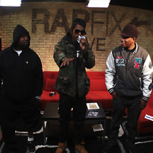 Ab-Soul Drops an Acapella Freestyle on RapFix Live