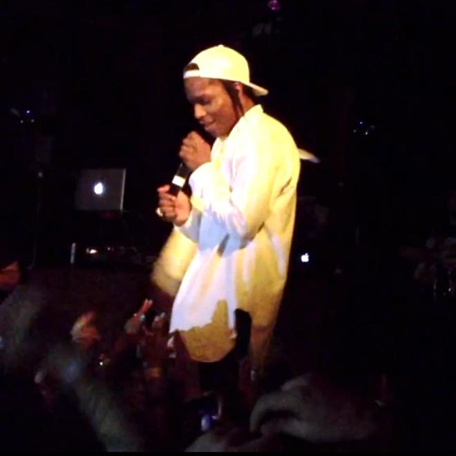 A$AP Rocky - Angels & Fashion Killa (Live in Brooklyn)
