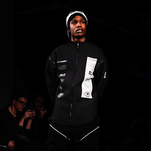 Hood By Air 2013 Fall/Winter Runway Show featuring A$AP Rocky
