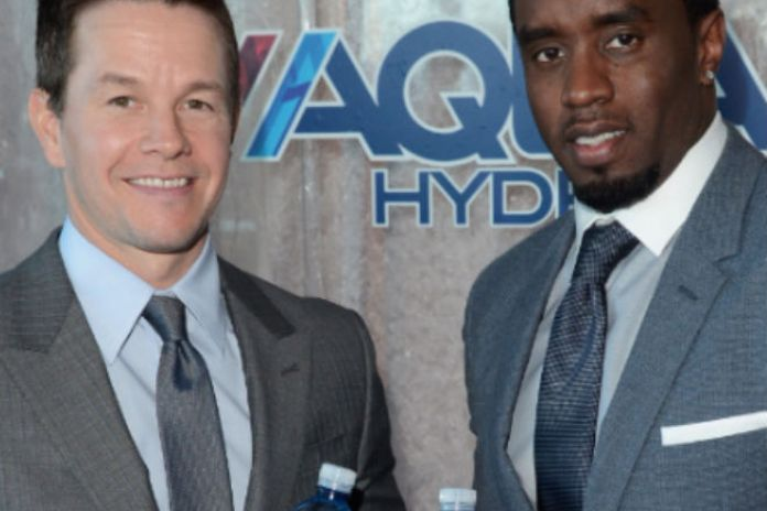 Diddy Launches AQUAhydrate Water with Mark Wahlberg