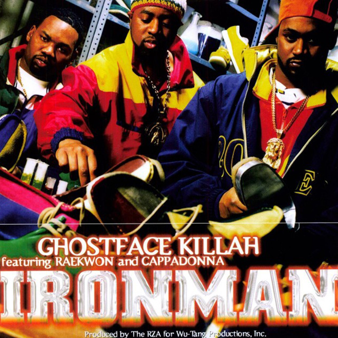 """Ghostface Killah to Re-Release """"Ironman"""" as a 24K Gold CD"""