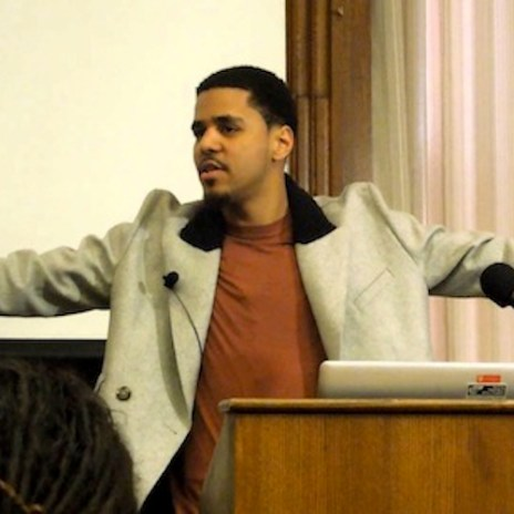J. Cole Drops Knowledge at Harvard