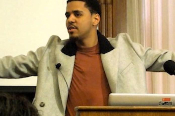 J. Cole Drops Knowledge at Harvard