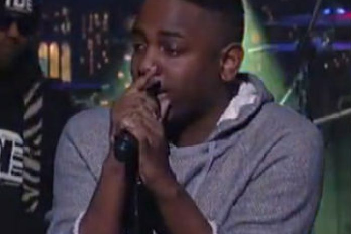 Kendrick Lamar - Poetic Justice (Live on Letterman)