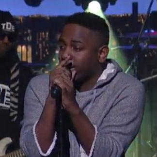 Kendrick Lamar - Poetic Justice (Live on Letterman)