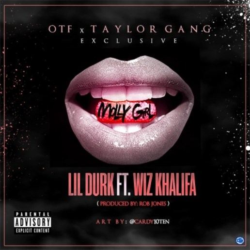 Lil Durk featuring Wiz Khalifa – Molly Girl (Remix)