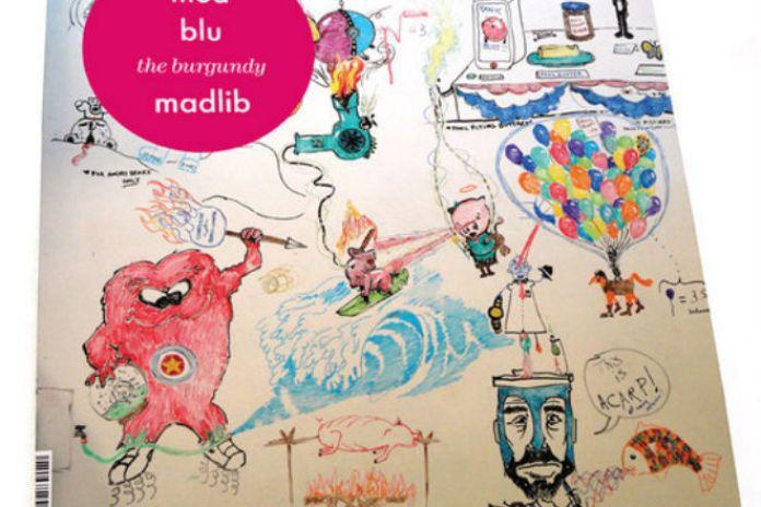 MED & Blu - Burgundy Whip (Produced by Madlib)