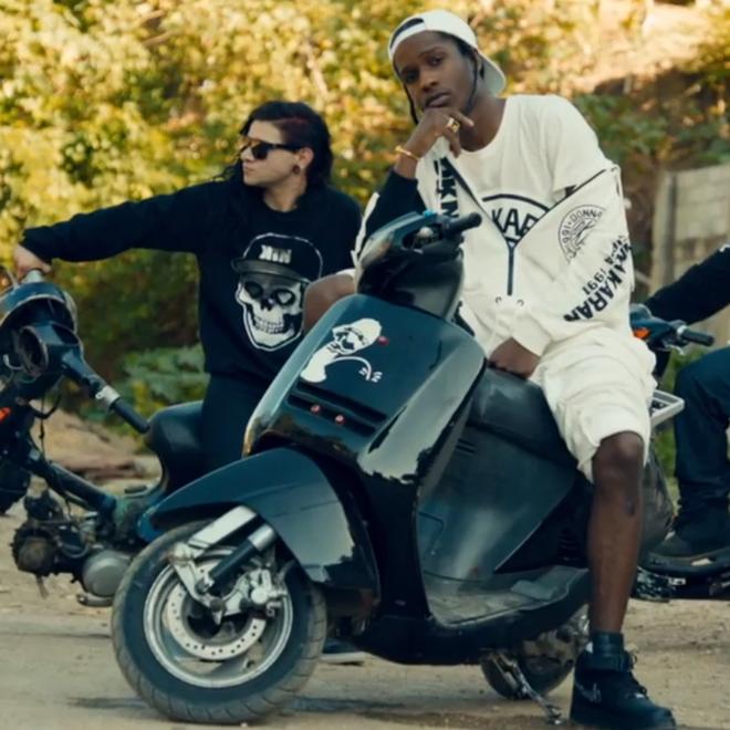 A$AP Rocky featuring Skrillex & Birdy Nam Nam - Wild for the Night