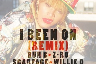 Beyoncé - I Been On (Bun B, Z-Ro, Scarface, Willie D, Slim Thug & Lil Keke Remix)