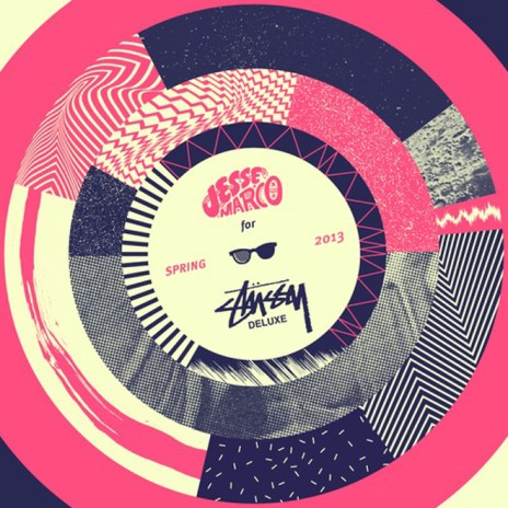 Jesse Marco for Stussy Deluxe - Spring 2013 Mixtape