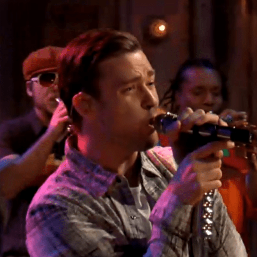 "Justin Timberlake Performs ""Let The Groove Get In"" On Jimmy Fallon"