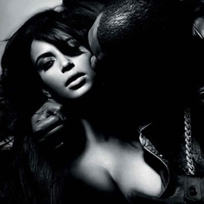 Have a Look at the Photos of Kanye West & Kim Kardashian's L'Officiel Hommes Photo Shoot Feature