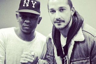 Kendrick Lamar & Shia LaBeouf Collaboration on the Way?