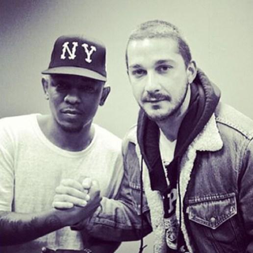 Kendrick Lamar & Shia LaBeouf Collaboration on the Way?