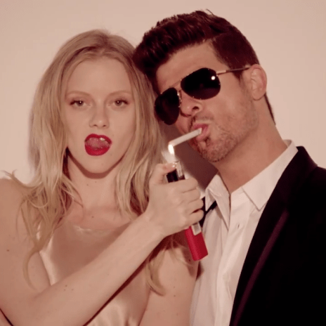 Robin Thicke featuring T.I. & Pharrell - Blurred Lines