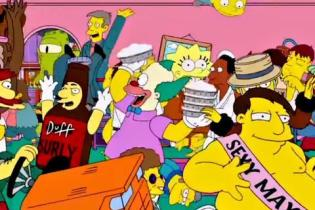 The Simpsons - Harlem Shake