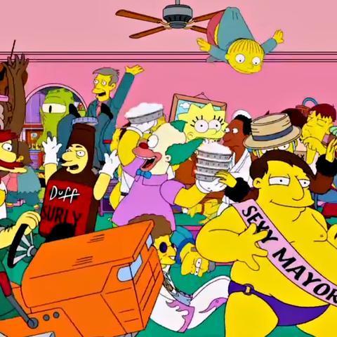 The Simpsons - Harlem Shake