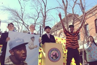 "Tyler, the Creator Stages ""Key to the City"" Ceremony in Boulder, Colorado"