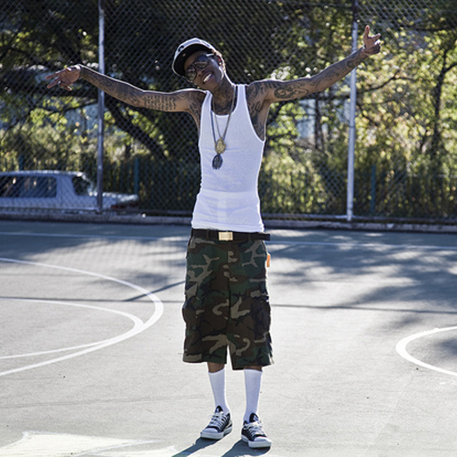 Wiz Khalifa Lands Deal with Converse