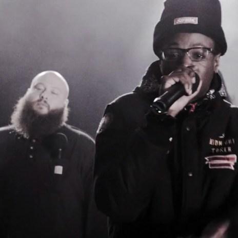 2013 XXL Freshmen Cyphers - Episode 1 featuring Joey Bada$$, Action Bronson, Ab-Soul & Travi$ Scott