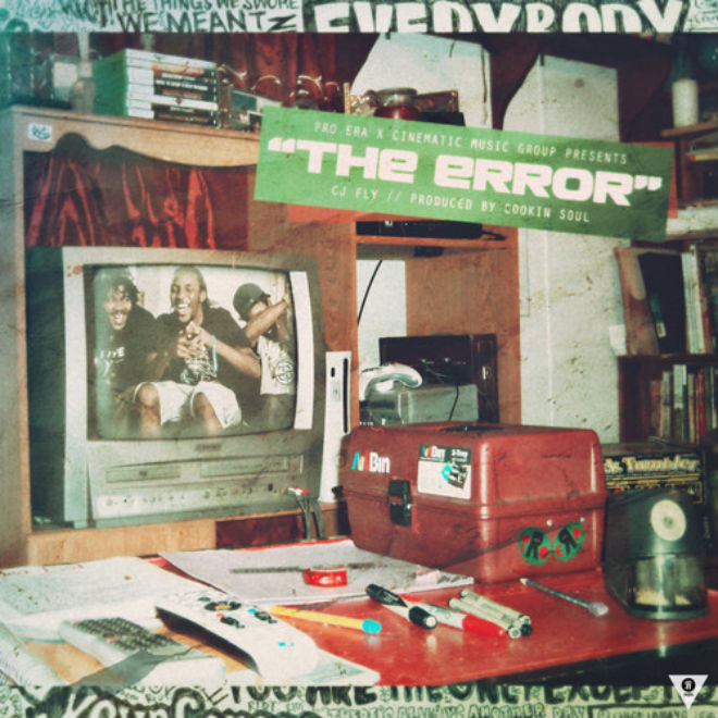 CJ Fly - The Error (Produced by Cookin' Soul)