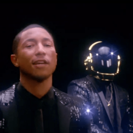 Daft Punk featuring Pharrell & Nile Rodgers - Get Lucky (SNL Ad)
