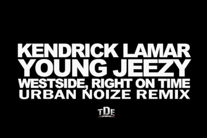Kendrick Lamar featuring Young Jeezy - Westside, Right On Time (Urban Noize Remix)