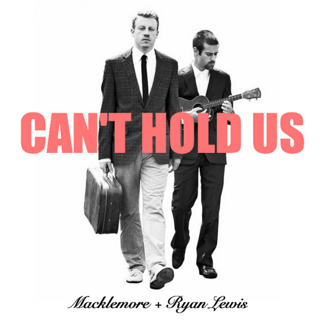 """Macklemore & Ryan Lewis's """"Can't Hold Us"""" Goes Platinum"""