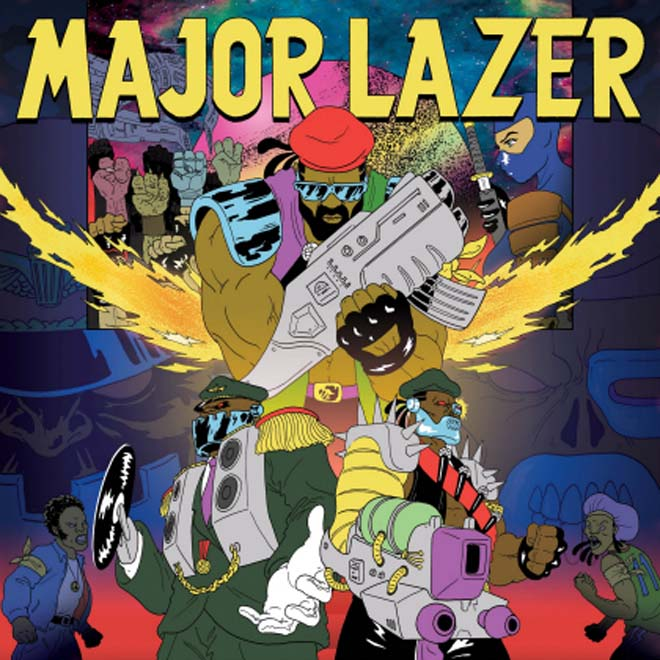 Major Lazer featuring Tyga, Bruno Mars & Mystic - Bubble Butt