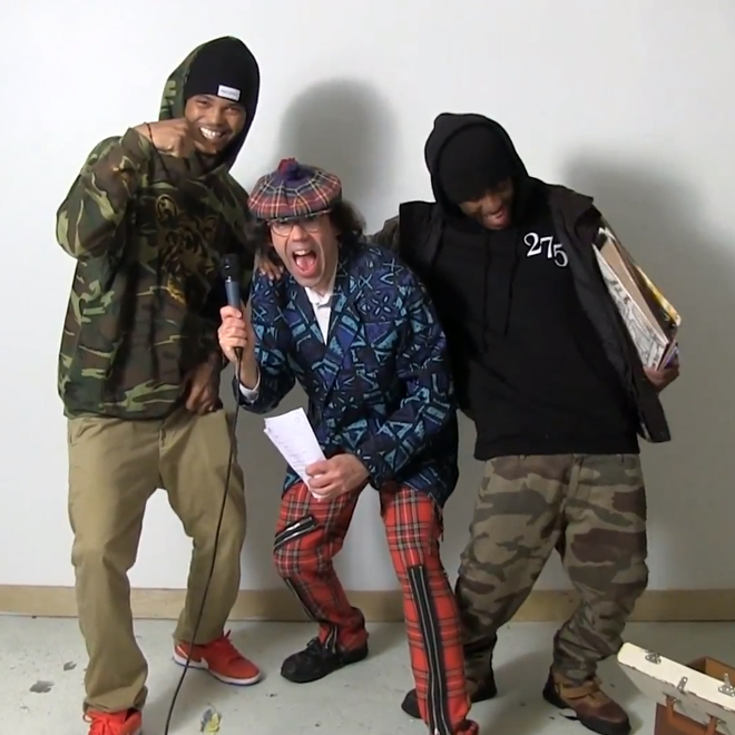 Nardwuar vs. SpaceGhostPurrp