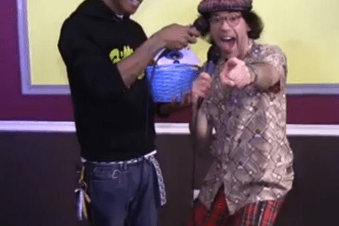 Pharrell Points the Microphone at Nardwuar