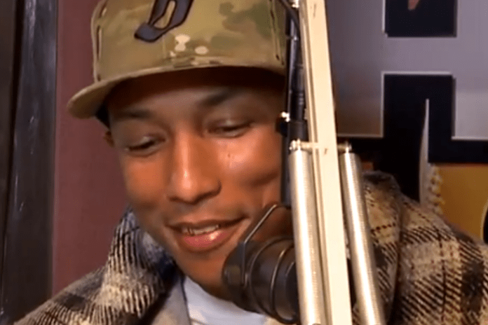 Pharrell talks about Anti-Aging Methods, Relationships, New Jay-Z Album
