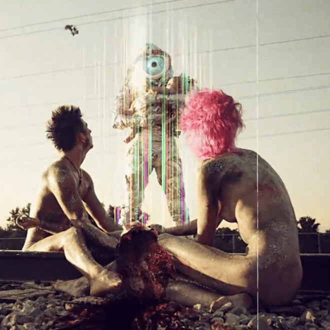 The Flaming Lips & Bon Iver - Ashes In The Air (NSFW)