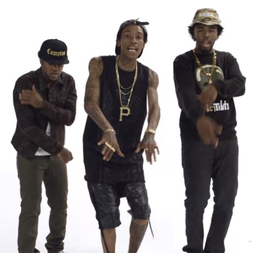 Wiz Khalifa featuring Problem & Iamsu! - Bout Me
