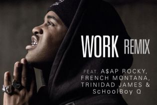 A$AP Ferg featuring A$AP Rocky, French Montana, Trinidad Jame$ & ScHoolboy Q – Work (Remix) [Artwork]