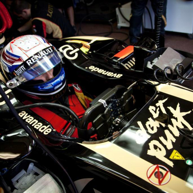 Daft Punk Get Their Own Formula 1 Race Car