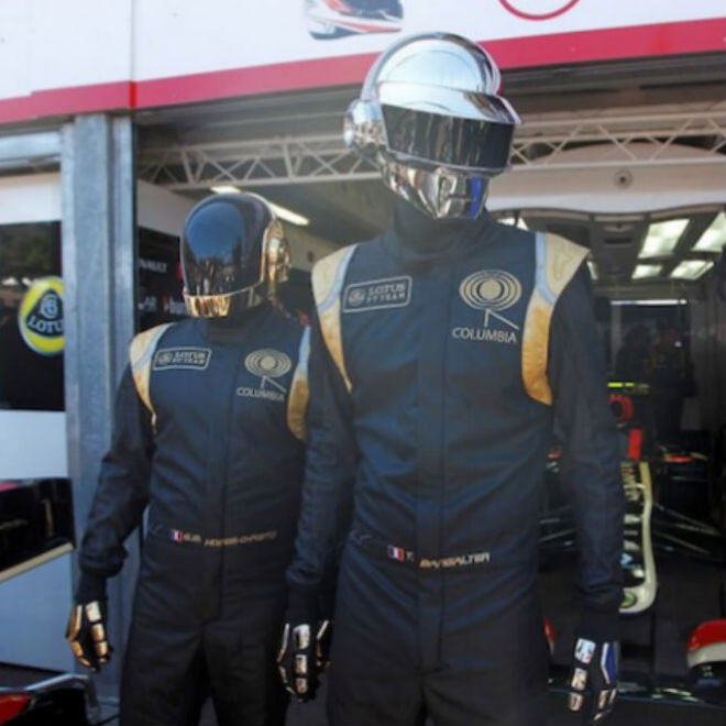 Daft Punk Showed Up at the Monaco Grand Prix for Their Race Car's Debut