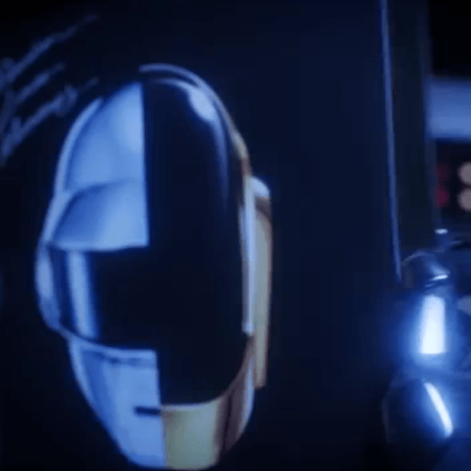 Daft Punk Spin 'Random Access Memories' on a Spaceship