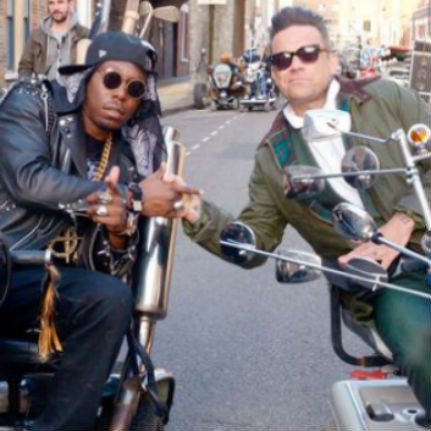 Dizzee Rascal featuring Robbie Williams - Goin' Crazy